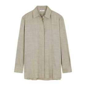 THE ROW Big Sisea Wool-blend Shirt
