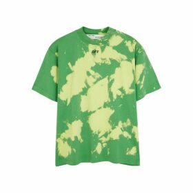 Off-White Tie-dye Cotton T-shirt