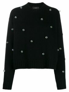 Alanui Below Zero Drops studded jumper - Black