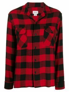 Woolrich check long-sleeve shirt - Red