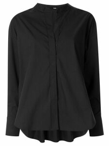 Frei Ea Skipper high-low hem shirt - Black