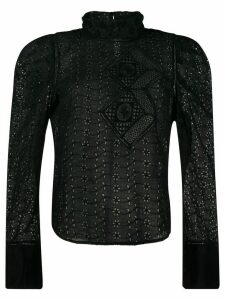 Isabel Marant Qyandi blouse - Black
