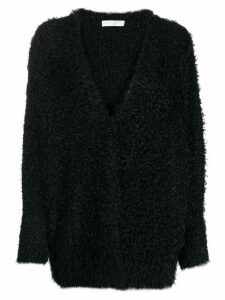 Fabiana Filippi textured knit cardigan - Black
