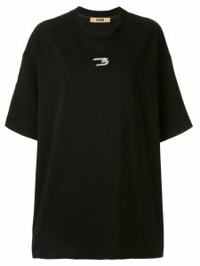 System logo oversized T-shirt - Black