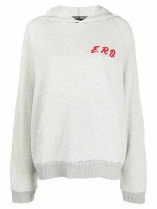 Enfants Riches Déprimés E.R.D relaxed-fit hoodie - Grey