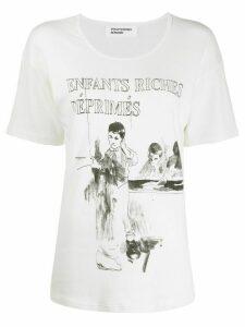 Enfants Riches Déprimés Deaf Child relaxed-fit T-shirt - White
