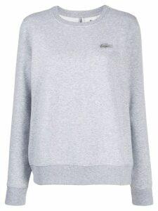 Lacoste Live tonal crocodile sweatshirt - Grey