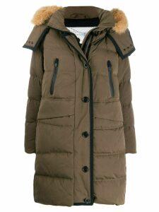 Peuterey padded parka coat - Green