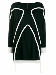 Pierantoniogaspari piped trim jumper - Black