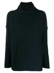 Daniela Gregis Dolcevita roll neck jumper - Blue