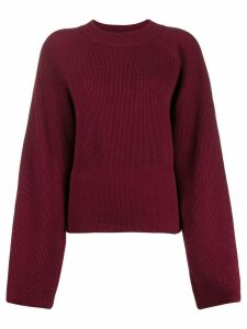 Nanushka oversized knit jumper - Red