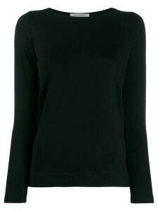 La Fileria For D'aniello long sleeve jersey top - Black