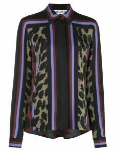 Diane von Furstenberg Mai printed silk blouse - Black