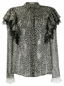 Philosophy Di Lorenzo Serafini cheetah print blouse - Black