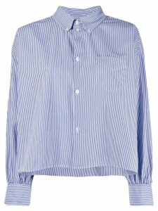Bellerose boxy striped shirt - Blue