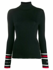 Gaelle Bonheur roll-neck fitted sweater - Black