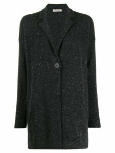 La Fileria For D'aniello cashmere mid-length cardigan - Grey