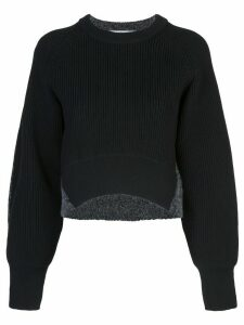 Alexander Wang curved hem jumper - Black