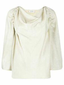 Lemaire cowl neck blouse - NEUTRALS