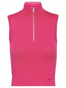 Prada Wool and silk top - PINK