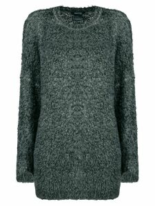 Avant Toi oversized chunky-knit jumper - Green