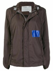 A-COLD-WALL* cut-out sleeve jacket - Brown