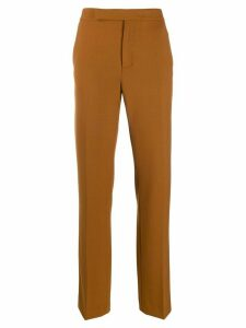 MRZ straight-leg tailored trousers - NEUTRALS