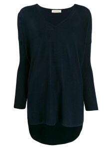 Gentry Portofino cashmere loose-fit jumper - Blue