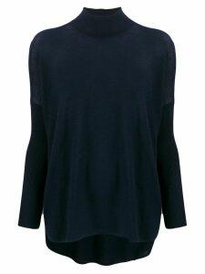 Gentry Portofino cashmere turtleneck jumper - Blue