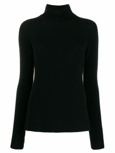 Gentry Portofino turtleneck slim-fit jumper - Black