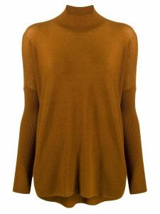 Gentry Portofino cashmere turtleneck jumper - Brown