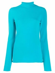 MRZ knitted long-sleeve jumper - Blue