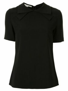 Stella McCartney bow-collar blouse - Black