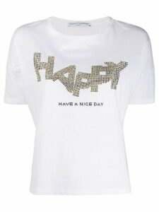 Ermanno Scervino Have A Nice Day T-shirt - White