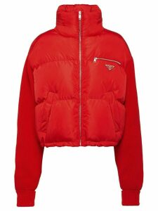 Prada Nylon puffer jacket - Red