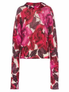 Prada floral jumper - PINK
