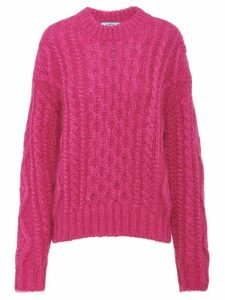 Prada cable knit jumper - PINK