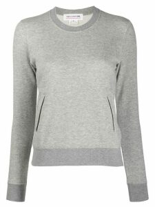 Comme Des Garçons Girl long-sleeve sweatshirt top - Grey