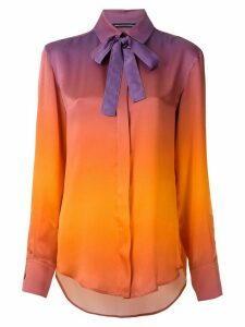 Reinaldo Lourenço gradient silk shirt - Orange