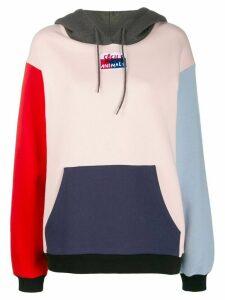 Être Cécile Colby Aurelia colour block hoodie - PINK