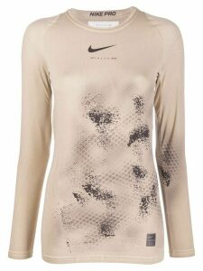 1017 ALYX 9SM x Nike printed long-sleeve top - Neutrals