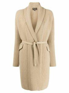 Loro Piana cashmere jacquard-knit cardigan - Neutrals