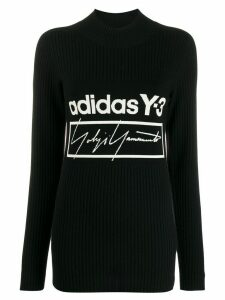 Y-3 x adidas logo tech jumper - Black