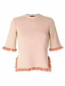 Giorgio Armani half-sleeve jumper - PINK