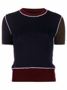 Maison Margiela rib-knit top - Blue