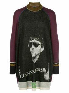 Bernhard Willhelm AQ knit jumper - Black