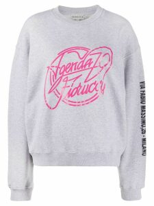 Fiorucci Agenda 79 relaxed-fit sweatshirt - Grey