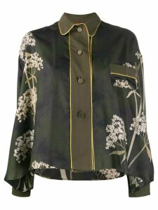 F.R.S For Restless Sleepers floral print buttoned shirt - Green
