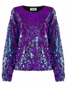 Essentiel Antwerp sequin embellished shirt - PURPLE