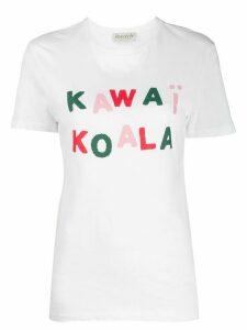 Être Cécile printed T-shirt - White